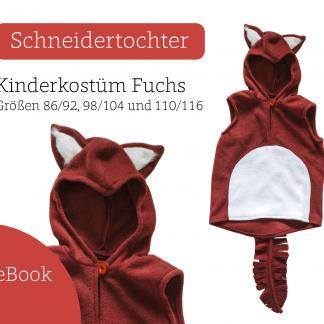 Nähanleitung Kostüm Fuchs für Kinder
